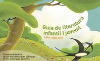 Preciosa guia de lectures INFANTILS I JUVENILS RECOMANADES PER SANT JORDI 2014 publicat per les biblioteques de la comarca de Girona