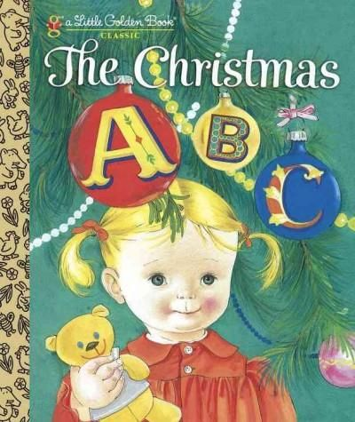 C is for Christmas-y fun in this festive Little Golden Book reissue from 1962. Classic illustrations from Eloise Wilkin show her famously adorable toddlers decorating the tree, opening gifts, and runn