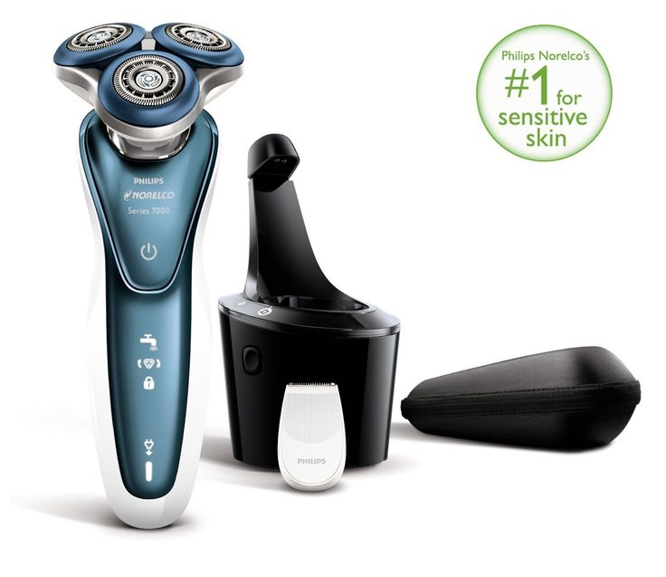 Philips Norelco Gentle Precision Aquatec Wet and Dry Electric Shaver and Beard Trimmer with Comfort Rings and Gentle Precision Blades For Sensitive Skin *** See this great product. (Note:Amazon affiliate link)