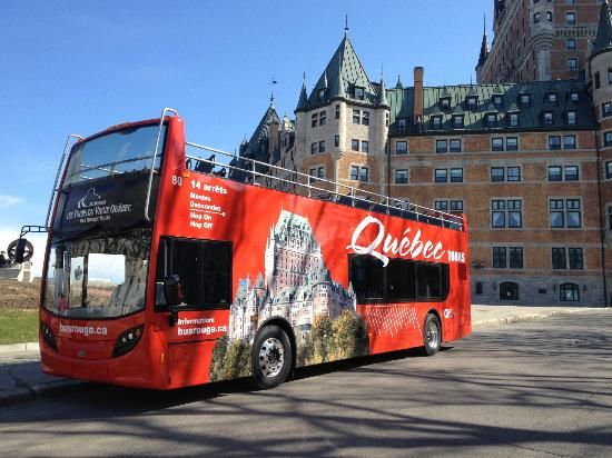 how to get from montreal to quebec city by bus