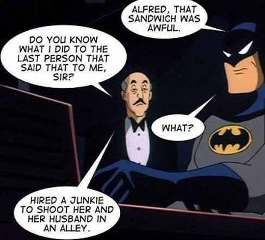 Don't Mess With Alfred