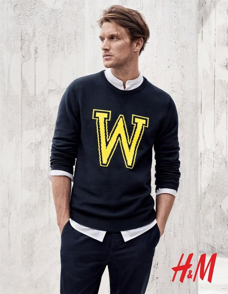 Men's casual style | Shaun De Wet by Josh Olins for the H&M Men Spring Summer 2015 Campaign