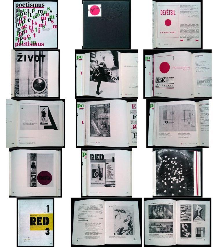 Czech avant-garde Poetism anthology #RED 1967 reprint - #Teige #Devetsil