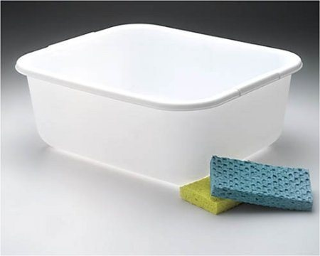 Plastic Wash Tub : things you need for camping that you might forget