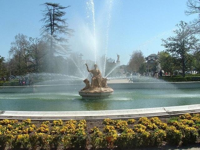 Jardines del palacio real de aranjuez madrid fuente de for El jardin de aranjuez