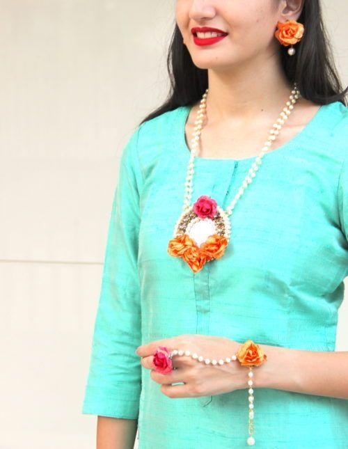 Boho Haldi Jewellery Made In India Mehendi Jewellery Natural