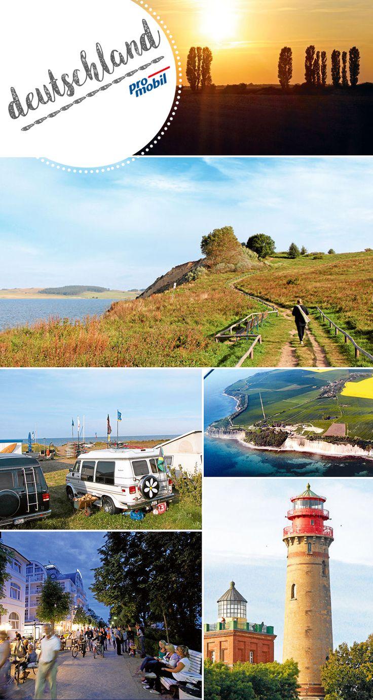 #Wohnmobil-Tour an die deutsche #Ostsee Die stillen Seiten der Insel #Rügen  #Deutschlands größte Insel hat mehr zu bieten als ein tolles #Strandleben und feine #Bäderarchitektur – eine Tour im #Reisemobil zu den verschwiegenen Orten und ruhigen Buchten von #Rügen.