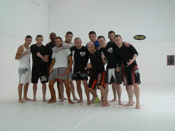MMA Clinic training camp