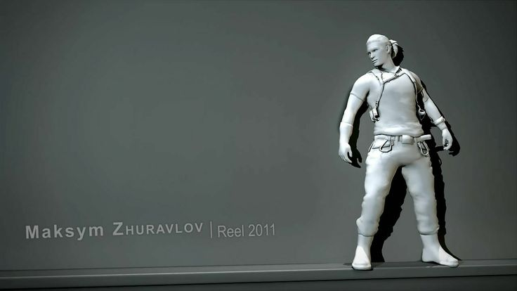 Videogame animation reel   09.2011