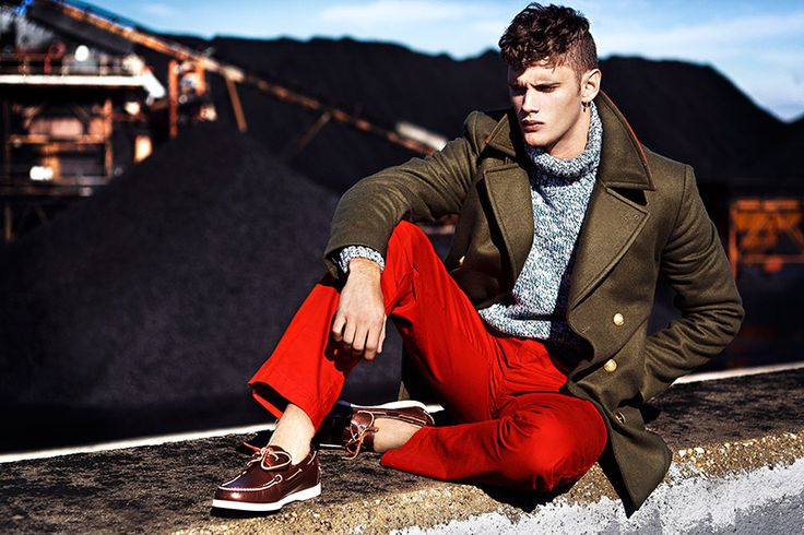Shoes With Red Chinos