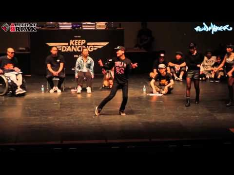 KEEP DANCING VOL.12 WAACKING SEMI FINAL - GAME1 - YouTube