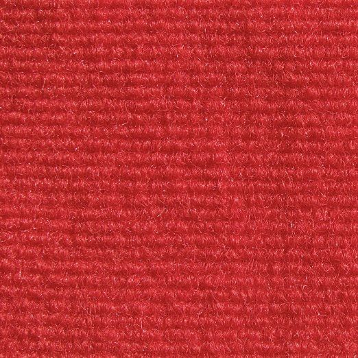 Indoor/Outdoor Carpet With Rubber Marine Backing   Red 6u0027 X 20u0027
