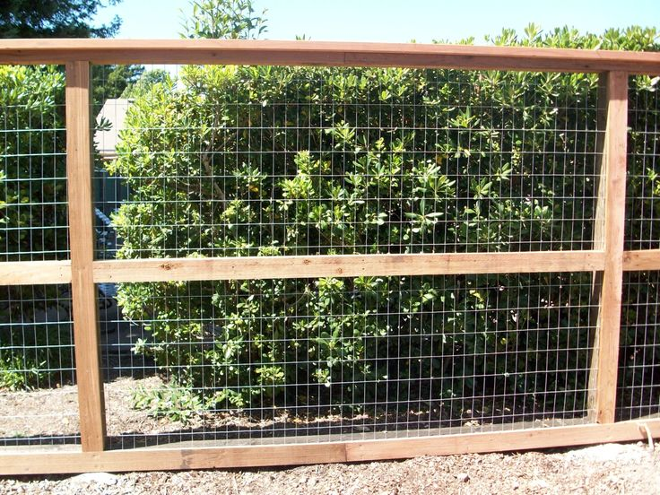 Wire Fence Ideas