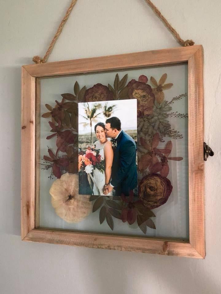 Press Wedding Bouquet After Weddingbouquets