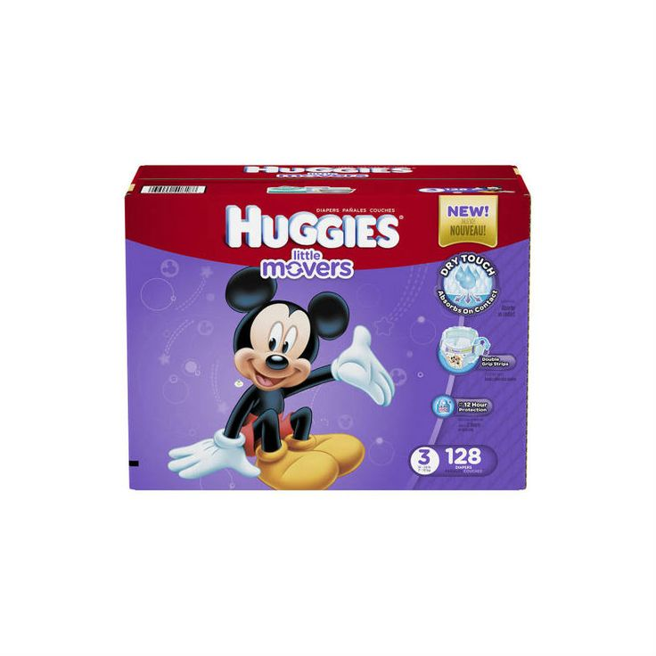 HUGGIES® Little Movers Diapers-large
