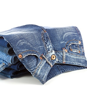 Soften Your New Jeans: Throw into the washing machine with ½ cup salt. They'll feel softer the first time you pull them on.