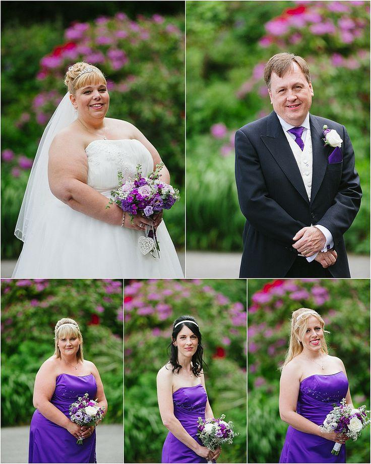 Bridal photographs at a Tregenna Castle wedding