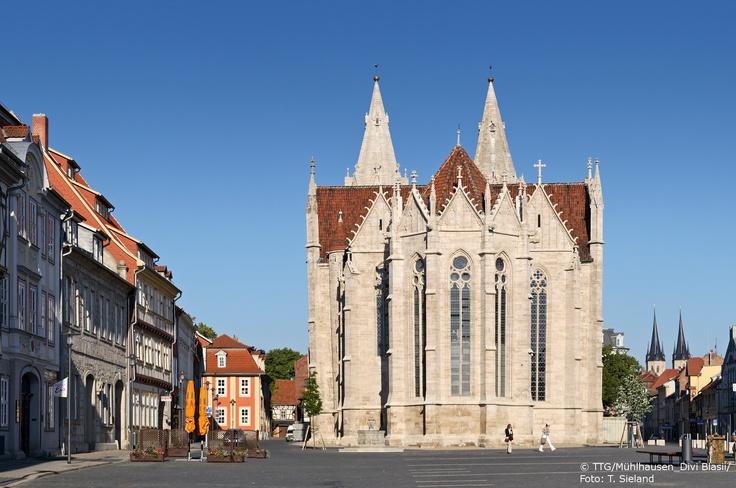 Divi-Balsii Church in Mühlhausen