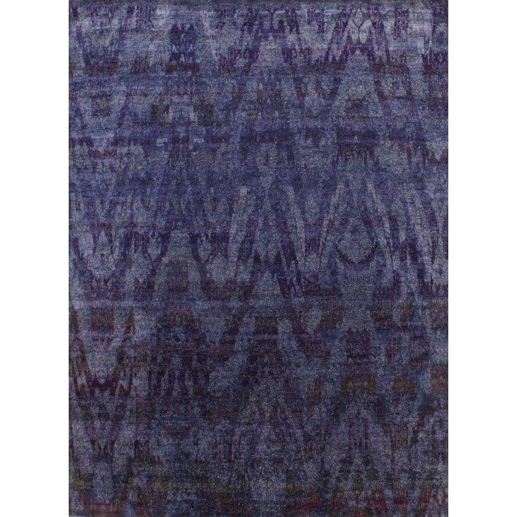"SILK ORCHID P36 BLUE - (7'7"" x 10'4"")"