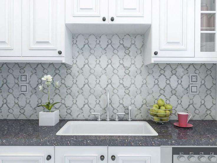 7 best home improvment diy bathroom kitchen backsplash Italian marble backsplash