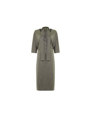 Hugo Boss Silk Wrap Dress
