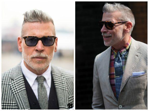 Cortes de cabelo para homens maduros – Celebridades que inspiram e perfis no Instagram para seguir