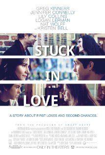 """Assisti """"Stuck in Love (2012)"""". Gostei. Para lembrar destas criaturinhas esquisitas e cheias de camadas que nós somos e dos mysterious ways dos relacionamentos. Mas em uma levada positiva. Opa. Um dos personagens é fã do Stephen King e do livro It. Sweet!"""