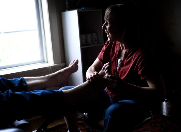 Foot zone therapy a natural way to heal, users say