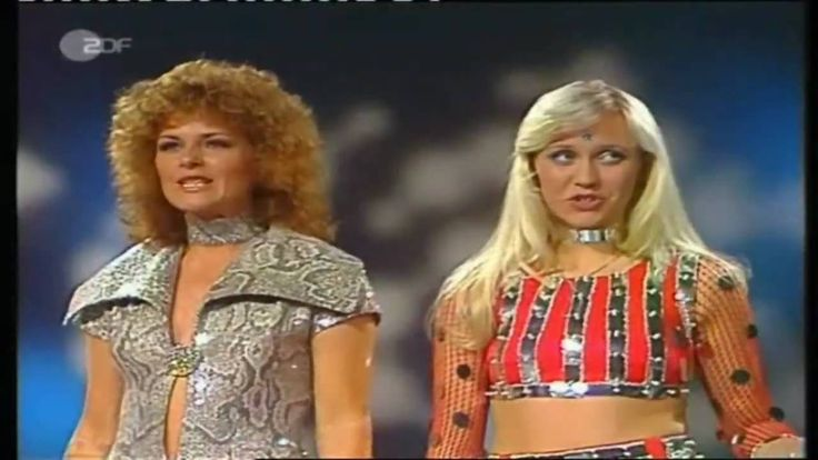 ABBA - Waterloo   (1974) - how about those outfits, so funny and kind of cute. Keva xo