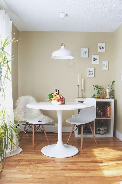17 mejores ideas sobre mesa redonda comedor en pinterest - Comedores pequenos ikea ...