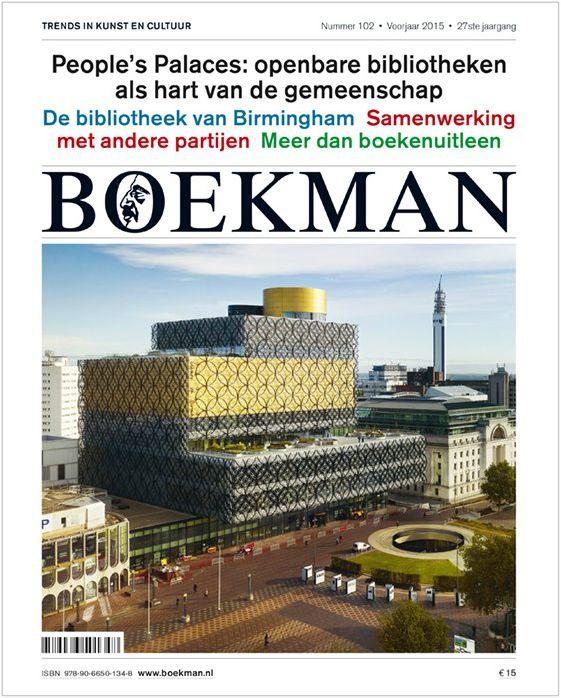 Boekman 102 is uit! Met als thema: People's Palaces, de nieuwe functie van openbare bibliotheken als hart van de gemeenschap. Zijn openbare bibliotheken nog wel nodig zijn in deze tijd van digitalisering van informatie en media, e-boeken en sociale media? http://www.boekman.nl/producten/boekman/boekman-102-people%E2%80%99s-palaces-bibliotheken-als-hart-van-de-gemeenschap