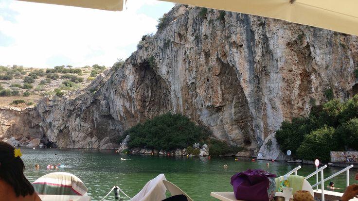 #limnivouliagmenis #vouliagmenis #lake #athens #greece #fishspa