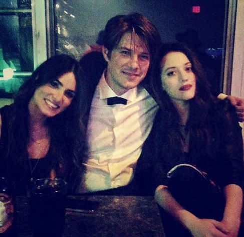 Lastly, Taylor joins Nikki Reed and Kat Dennings for a fancy party of sorts. His suit looks marvelous. | 9 Photos Of Taylor Hanson Acting Like A Celebrity Fangirl