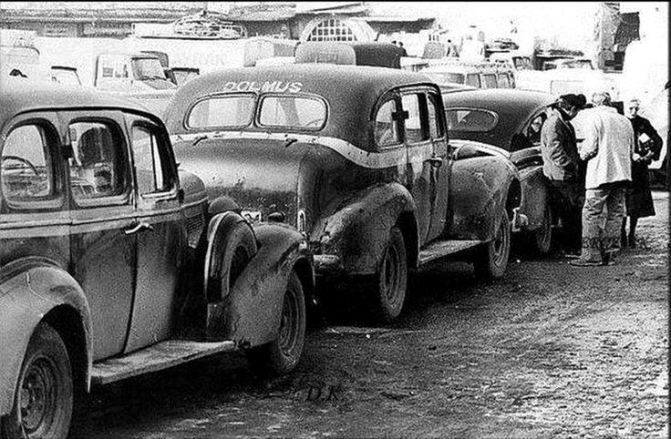 EMİNÖNÜ-KASIMPAŞA DOLMUŞLARI 1954