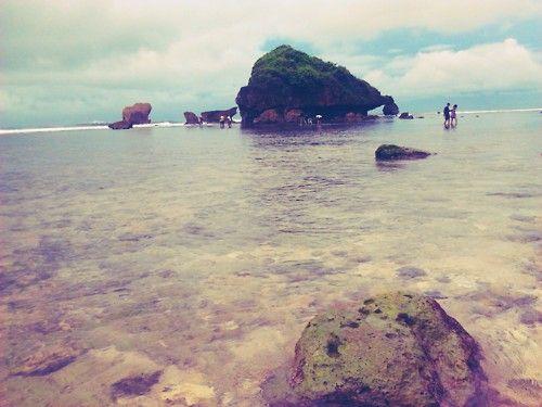 Ngandong Beach, Yogyakarta Indonesia #beach #ocean