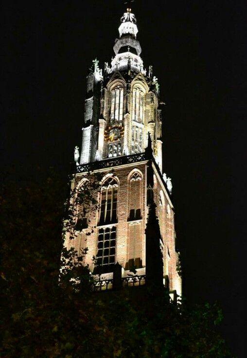 Onze Lieve Vrouwe Toren   by Night   Amersfoort   Netherlands