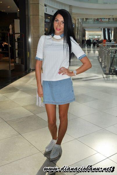 """Am dat startul noii rubrici intitulată """"Fashionistele"""". Aici vei găsi ținute fashion street care te vor inspira! Take a look: http://dianaciobanu.net/2014/10/09/prima-zi-cautarea-fashionistelor/"""