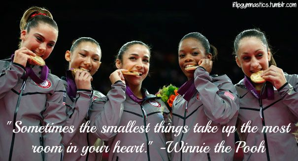 Sometimes the smallest things take up the most room in our heart. -Winnie the Pooh