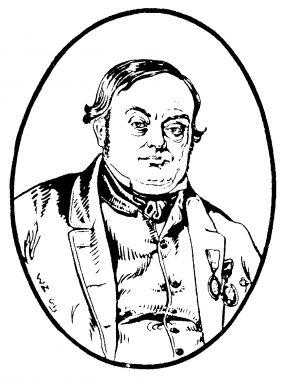 Sven Eriksson levde mellan 1801 och 1866. Sven Eriksson hade en stor förläggarverksamhet och startade Sveriges första mekaniska bomullsväveri, Rydboholms Konstväfveribolag, 1834. Sven Eriksson startade bland annat även ett mekaniserat bomullsspinneri i Rydal och anlade Svaneholms väveri år 1852.