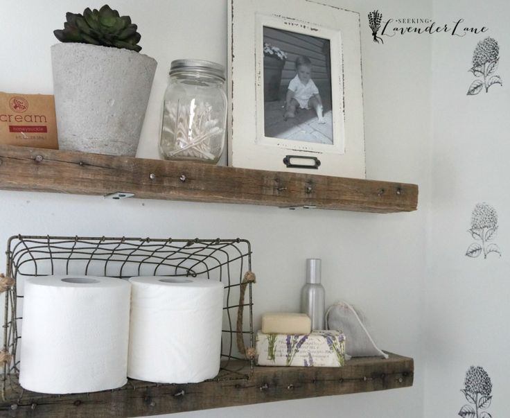 1000+ Ideas About Shelves Over Toilet On Pinterest