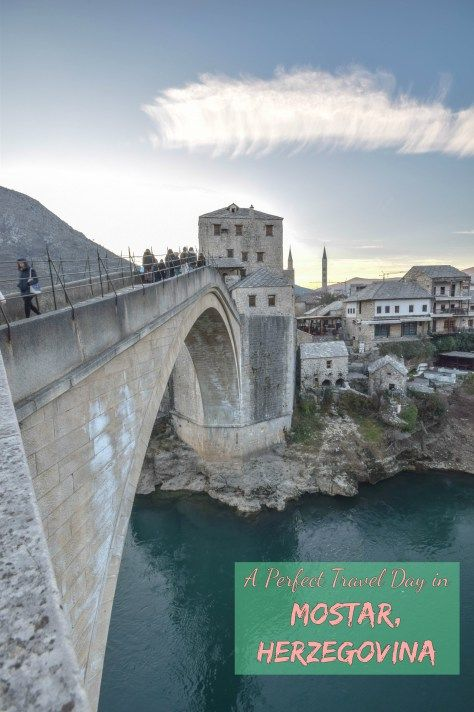 Sometimes the stars align and you have a perfect travel day.  That's what happened with us in Mostar, Herzegovina over New Years.