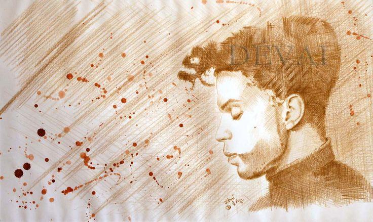Grafik: Alex Devai Color Pencil, aquarell Princ