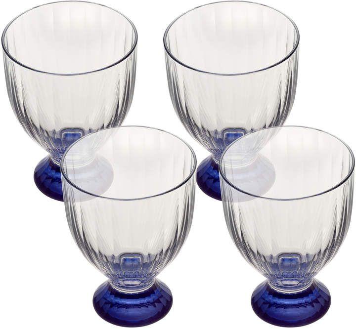 Artesano Original Bleu Red Wine Set Of 4 13 Oz White Wine
