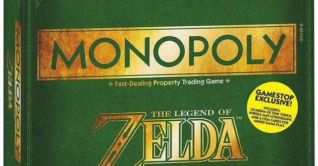 Le #monopoly #Zelda débarque à la rentrée ! | Serial Gamer tout sur le jeu
