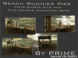PrimBay - Beach buddies pier - by PRIME
