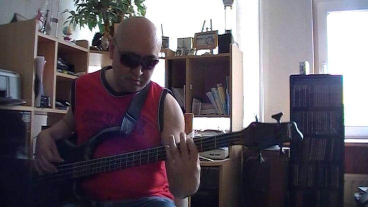 Blessed Assurancs Gospel Reggae Bass cover Bob Roha