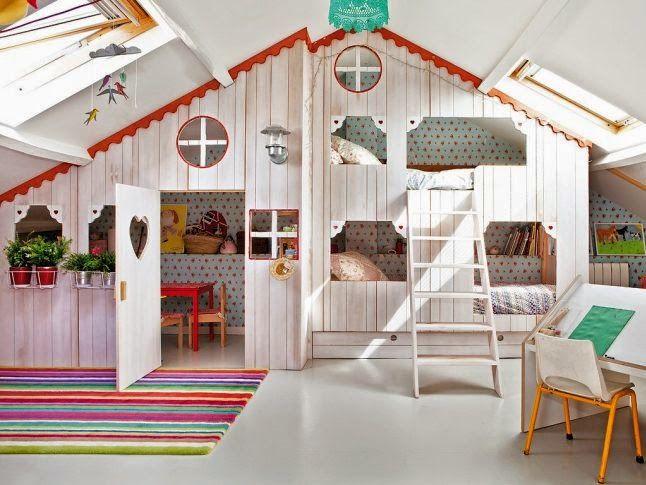 Está claro que sólo es válido para habitaciones enormes, pero nos ha gustado…