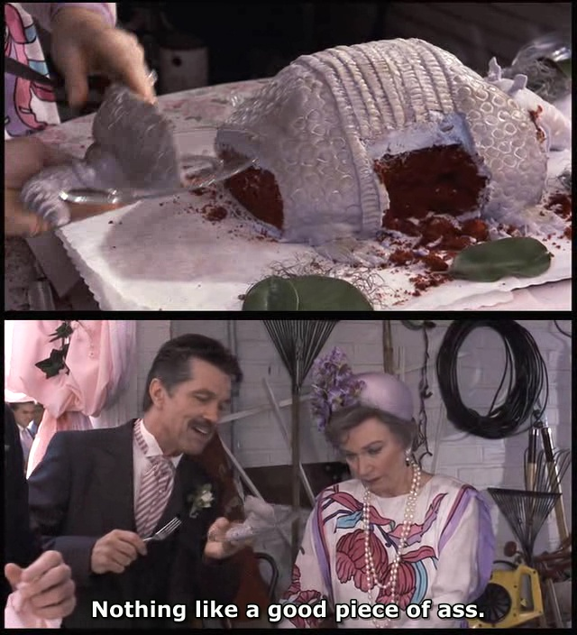 The one thing i want at my wedding right now. Lol Steel Magnolias -- lost count how many times I've seen this movie.