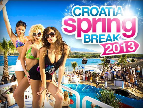 Spring Break 2014 - The entire dates of the Spring break 2013 event will be in June, the official dates of the sessions will be online soon. You can expect to experience some of the best DJ's and meet up with cool new people from all across the globe. Find out more by visiting our web site.  #spring #break #Croatia