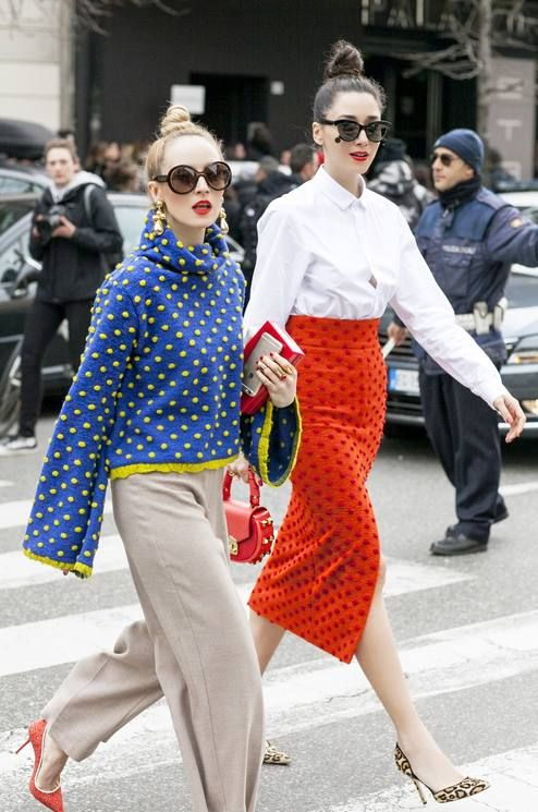 Pop Of Colors Mfw Streetstyle